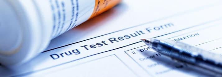 Drug Test Form in Toms River NJ